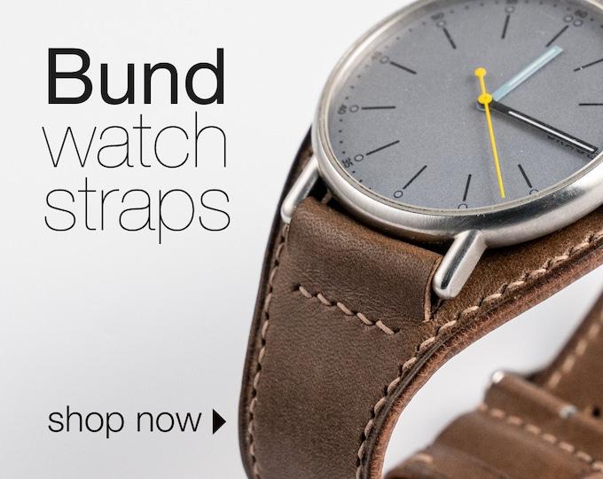 Bund strap /  Cuff watch