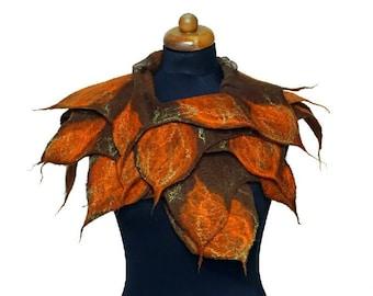Spike-edged scarves