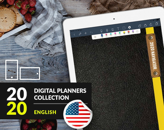 2020 iPad Planners (ENG)