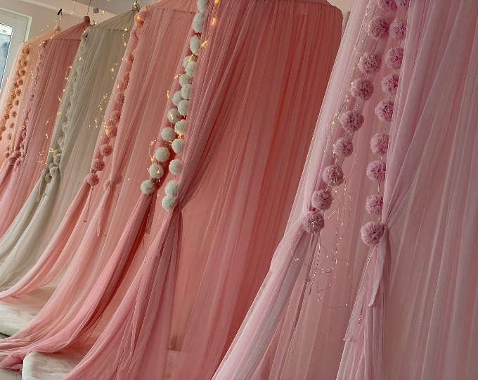 Dreamy Tulle Canopy 25M