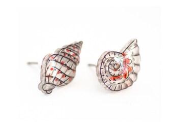 Ocean Life Stud Earrings