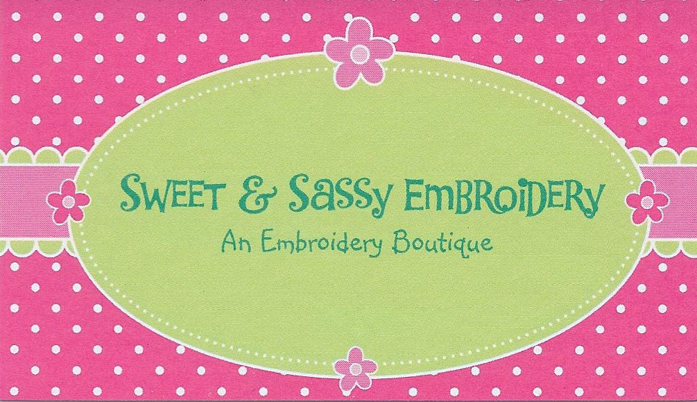 Sweet Sassy Embroidery Boutique By Sweetnsassyembroider On Etsy