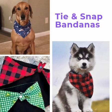 Schroeder Tie /& Snap Bandana